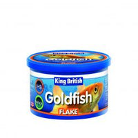 King British Goldfish Flake Food 12G