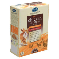 HiLife It's Only Natural The Chicken One in Jelly 8 x 70g Cat Food
