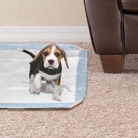 Simple Solution Dog and Puppy Pad Holder, Regular or Large Sized Training Pads