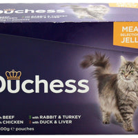 Duchess Cat Pouch Meat Selection In Jelly 12 x 100g