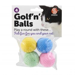 Golf 'n' Balls Assorted Cat Toy