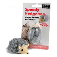 Speedy Hedgehog Cat Toy