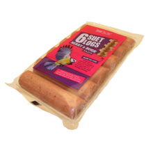 6 Pack Suet Log Insect
