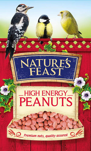Nature's Feast High Energy Peanuts For Wild Birds 12.75 kg