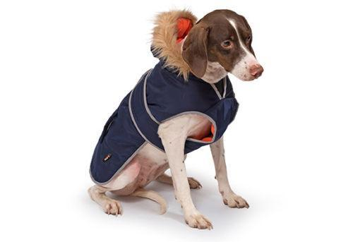 Ancol Parka Dog Coat Navy