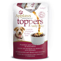 Applaws Pumpkin Soup with Beef and Vegetable 60g Dog Toppers
