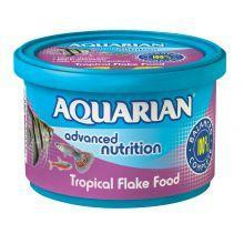 Aquarian Tropical Fish Flake Food 200g