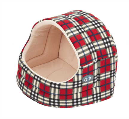 Argyll Hooded Cat Bed Igloo