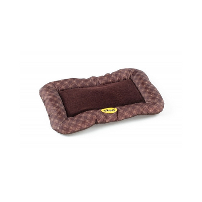 Cat & Dog Brown & Gold Oxford Pet Cushion