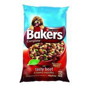 Bakers Complete Dry Dog Food  Beef & Veg 14kg
