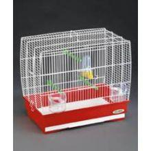Bird Budgie Canary Cage  Imac Irene White 2 Bar