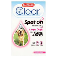 Dog Flea & Tick Prevention for Large Dogs,  3 Tubes