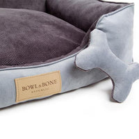 Bowl & Bone Luxury Dog Bed Classic Grey