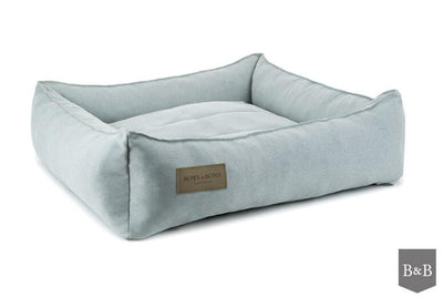 Bowl & Bone Luxury Dog Bed Urban Grey
