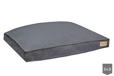 Bowl & Bone Luxury Dog Bed Cushion Loft Graphite