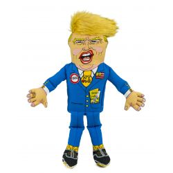 Presidential Parody Donald Trump Squeaker Dog Toy