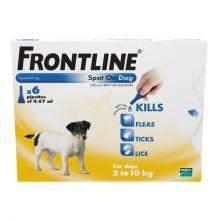 Frontline Spot On For Small Dogs
