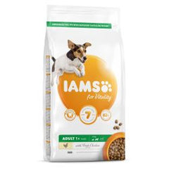 IAMS for Vitality Adult Small & Medium Dog Food with Fresh Chicken 12kg