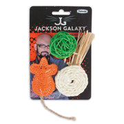 Jackson Galaxy Natural Playtime Cat Toy 3 pack