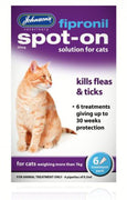 Johnsons Fipronil Spot On Cat 30 Weeks