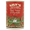 Lily's Kitchen Beef, Potato & Vegetable Dog Food  400g (x6)