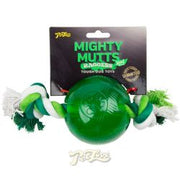 Mighty Mutts Mint Ball & Rope Medium