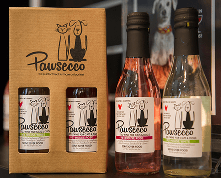 Pawsecco White Still 'Wine' for Dogs and Cats 250ml