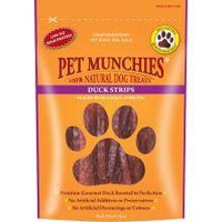 Pet Munchies 100% Natural Duck Strips