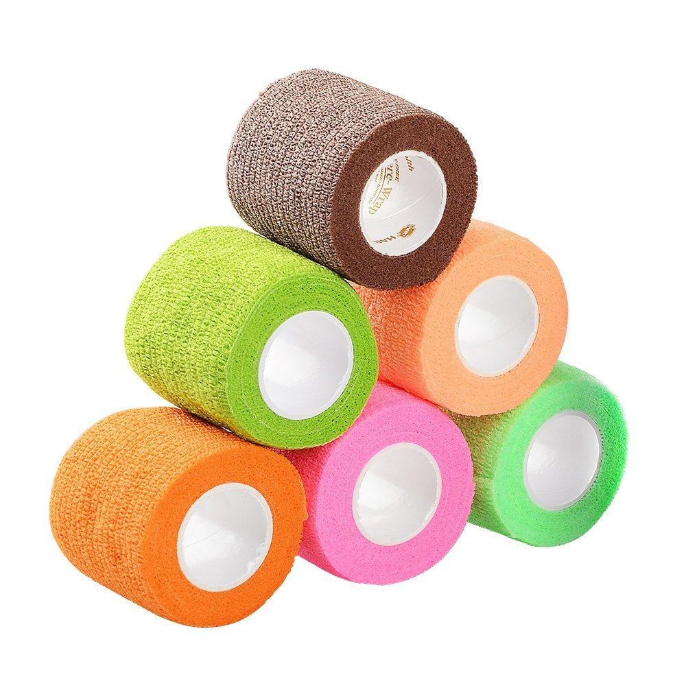 Pet Vet Wrap Bandaging Tape - Pack of 6