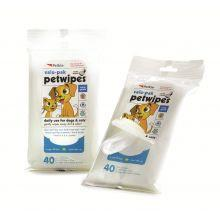 Petkin Eco Wipe Vanilla & Coconut, 40pcs