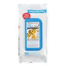 Petkin Mega Value Wipes, 125pcs