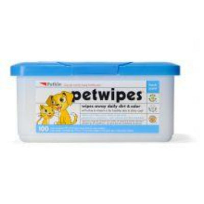 Petkin Pet Wipes, 100pcs
