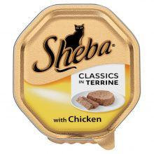 SHEBA Classics in Terrine with Chicken 85g