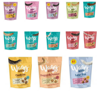 Wagg Dog Treats 12 Varieties