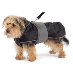 Ancol 2 in 1 Harness Dog Coat Black