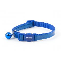 Ancol Cat Collar Gloss Reflective Blue