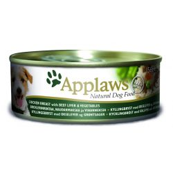 Applaws Chicken & Beef Jelly 12 x 156G Dog Food