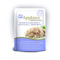Applaws Pouch Jelly Chicken & Liver Cat Food 70g