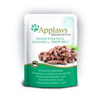 Applaws Pouch Jelly Tuna & Mackerel Cat Food 70g