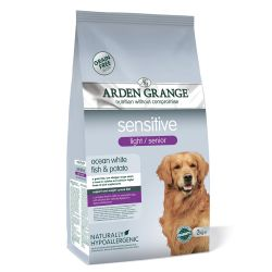Arden Grange Dog Light / Senior Sensitive 2KG