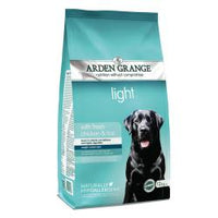 Arden Grange Adult Light Chicken & Rice 12kg Dog Food