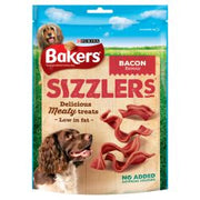 Bakers Sizzlers Bacon Dog Treats 6 x 120g