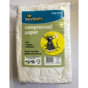 Bestpets Compressed Paper Bedding for Small Animals Mice Hamster Guinea Pig