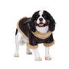 Brown Leather Flying Dog Jacket
