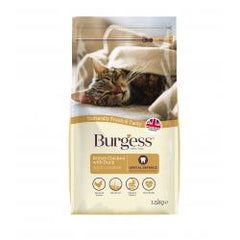 Burgess Adult Chicken & Duck Cat Food 1.5kg