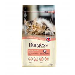 Burgess Adult Scottish Salmon Cat Food 1.5kg