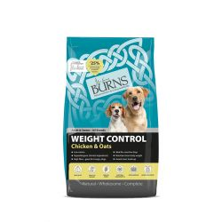 Burns Weight Control Chicken and Oats 6KG Dog Food