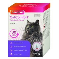 Beaphar CatComfort Calming Diffuser Starter Kit, 48ml