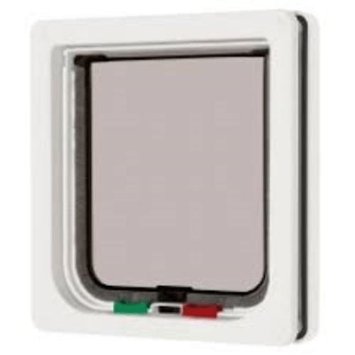 Pet Mate Large Cat Flap 4 Way Locking White