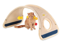 Cat Activity Play Gym - Blue
